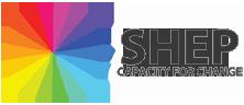 social and health slogan logo